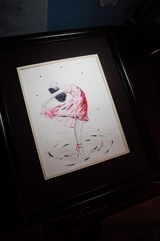 dance, ballerina, woman, art - stevehewittartstudio   ello