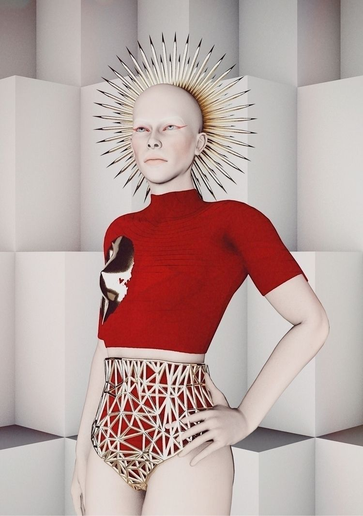 Technology Fashion  - Art, 3Dart - darlingdesign   ello