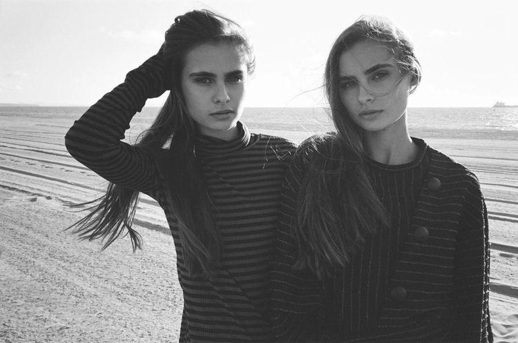 twins. Photographed Yashica T4  - theashleybarrett | ello