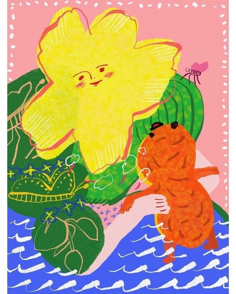 Small talk peanut - illustration - draw_spring | ello
