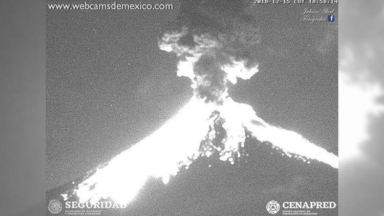 El volcán Popocatépetl explota  - codigooculto | ello