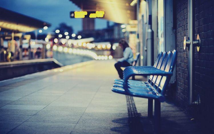 Waiting Station Photography. Vi - kh-zain   ello