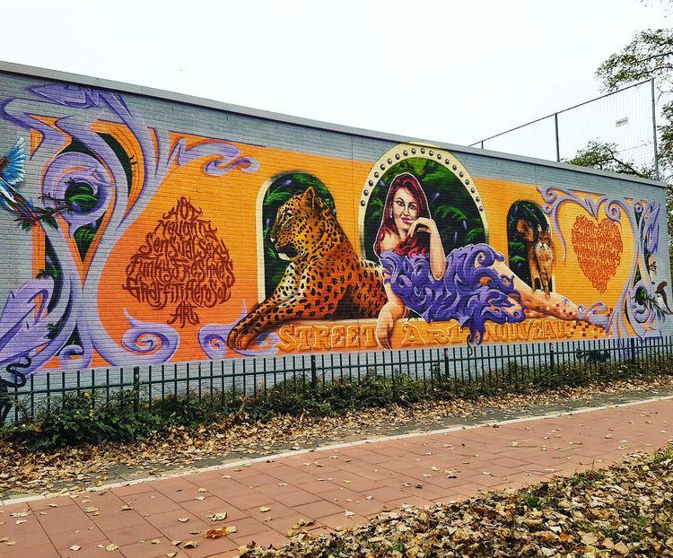 StreetArtNouveau promo mural pa - mrjuice | ello