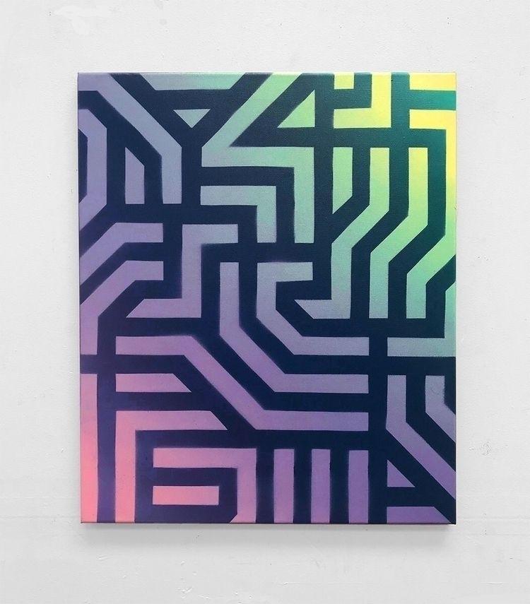 Dream Language Spray paint sten - xavi | ello