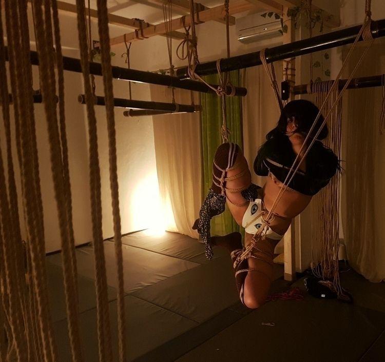 fun evening tying Lucy_prr - shibari - nawaerabu | ello