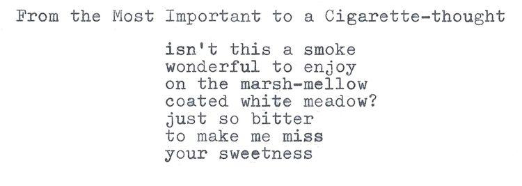 Important Cigarette-thought par - g_plus_theworld | ello