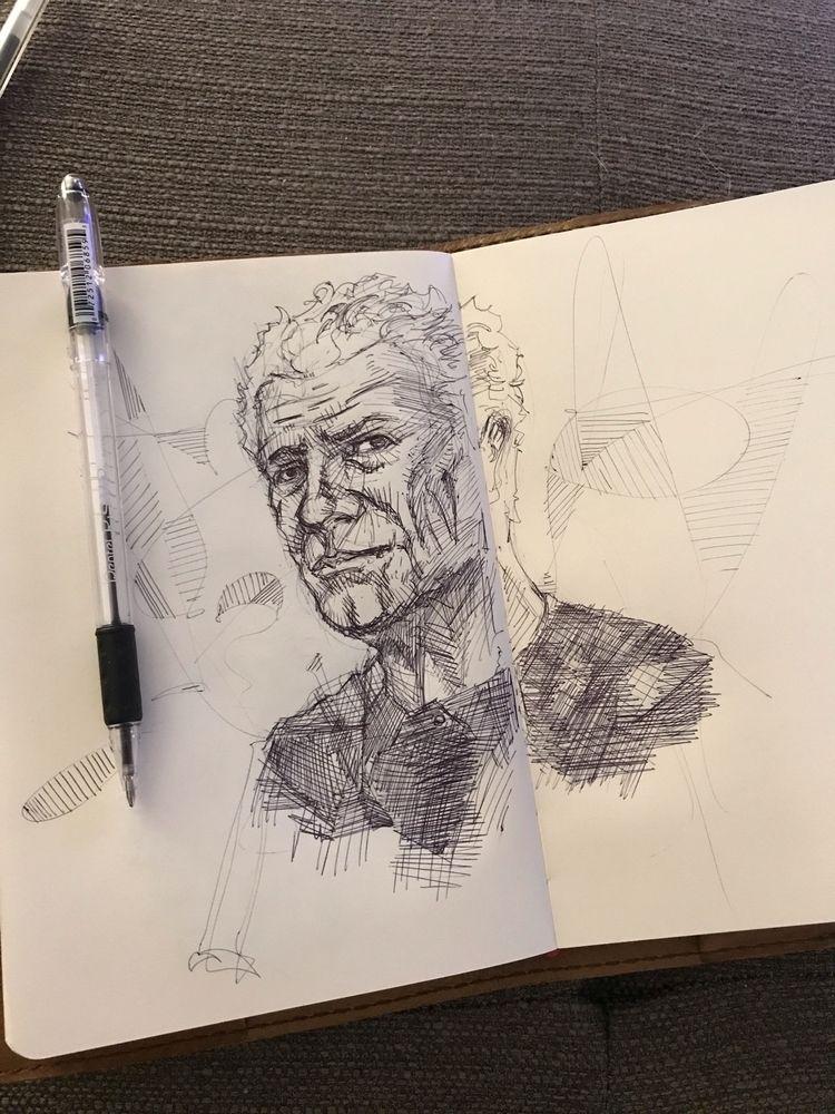 ballpointpen, illustration, feensdraw - feensdraw | ello