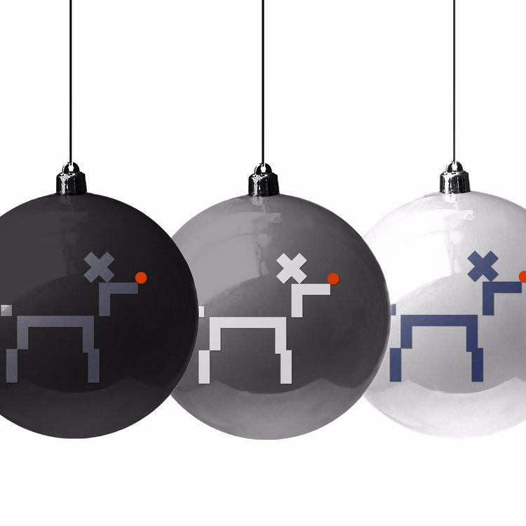 Christmas balls theme designer - grabatdot | ello
