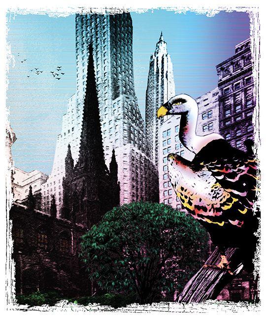 Ttile Downtown Medium collage d - pariseau | ello