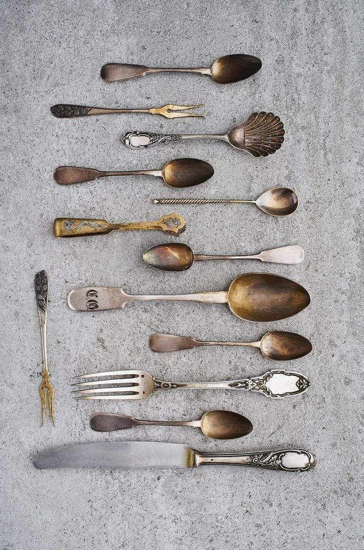 vintage tableware - stillife - rodionkovenkin | ello