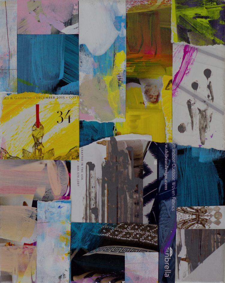 original mixed media collage 8  - chareststudios | ello
