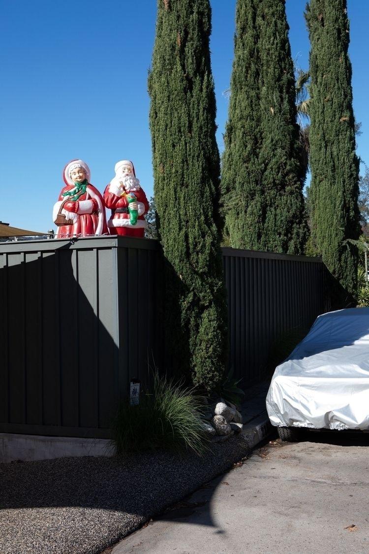 Christmas Figures, Covered Car - odouglas | ello