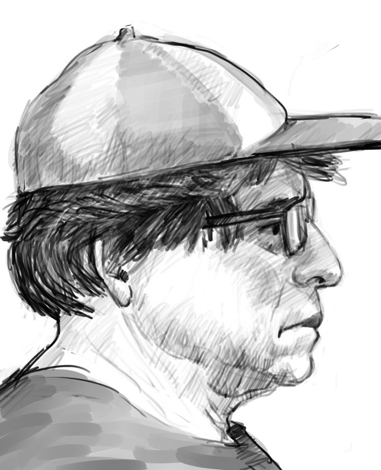 Drawing man silly hat comment,  - nevinberger | ello