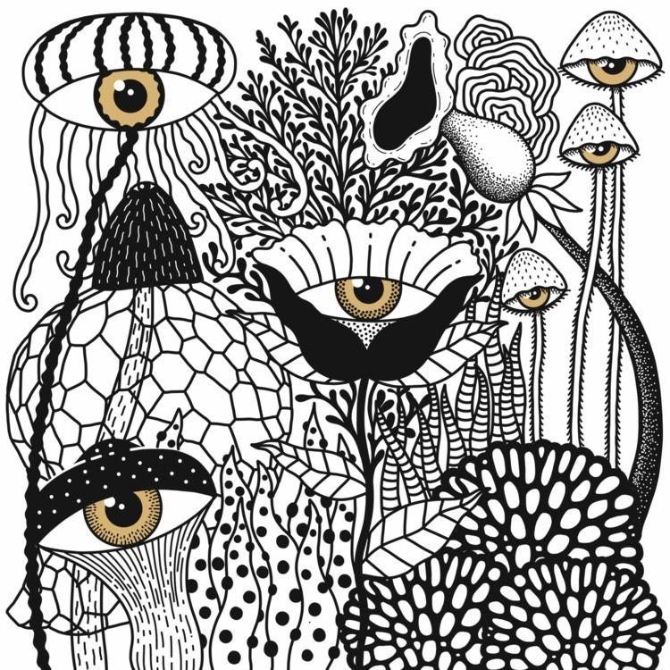 illustration, art, drawing, eyes - alicecquaglia | ello
