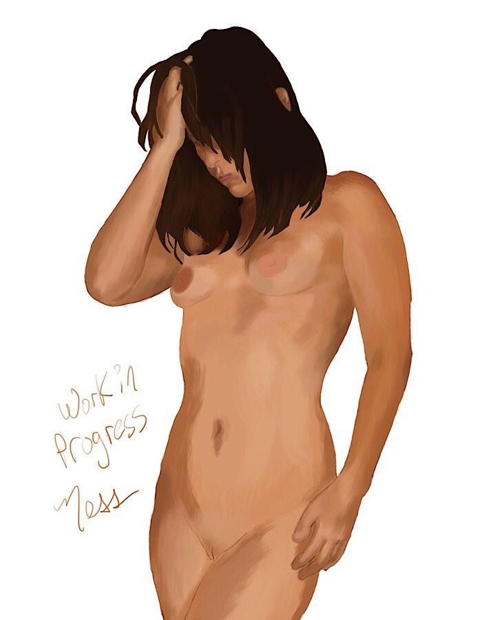 WIP. Digital painting friend Cr - nesshead | ello