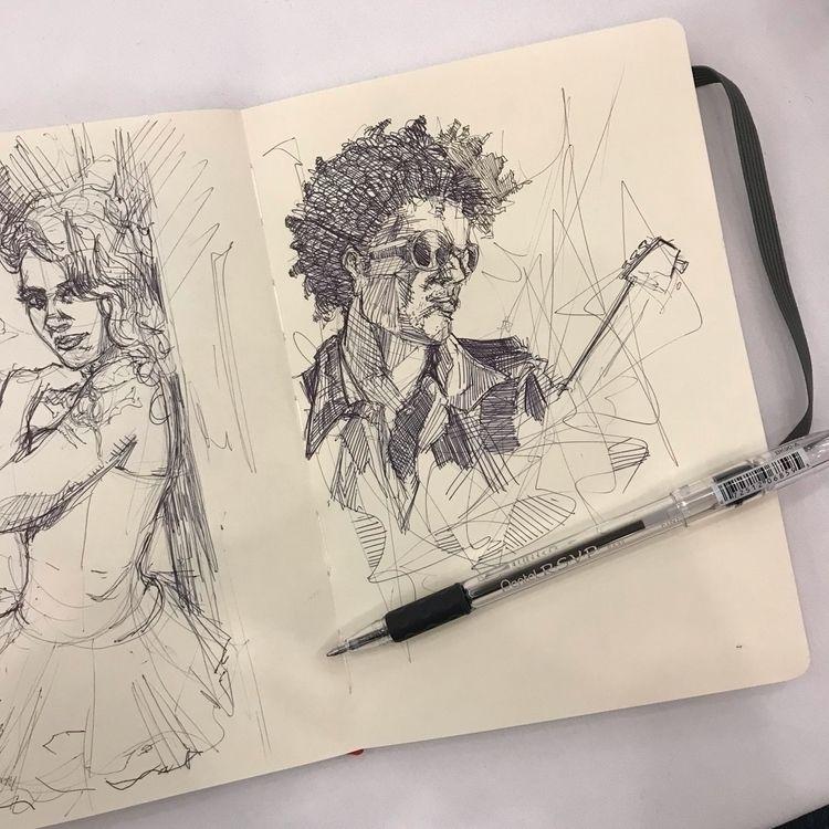 older art online - ballpointpen - feensdraw | ello