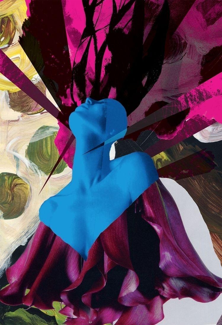 Ophelia Ecstasy Digital collage - ericperez | ello