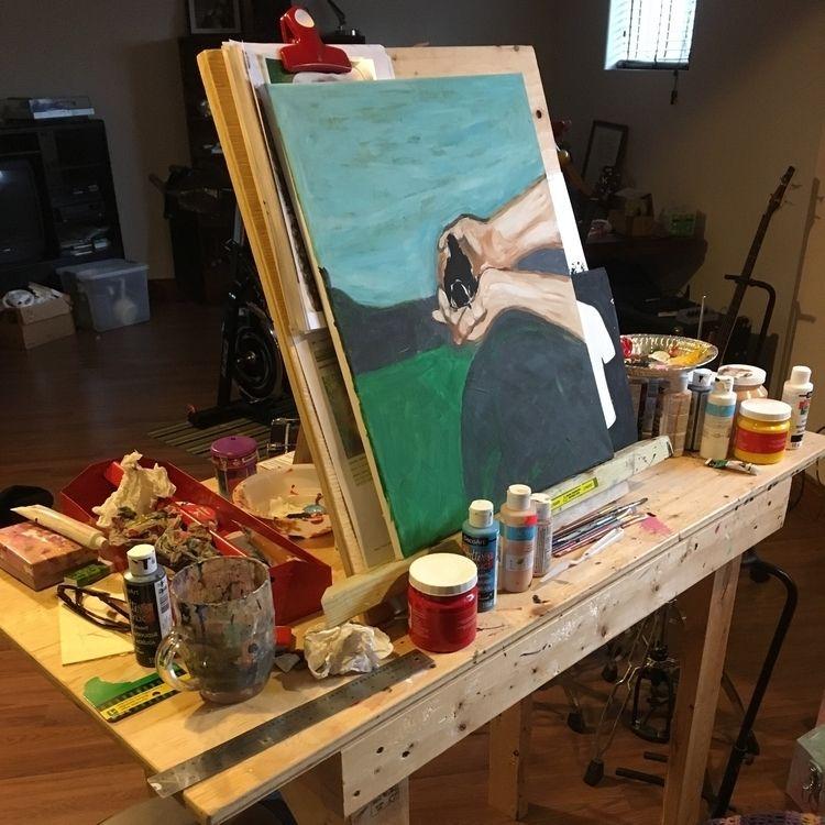 Work progress: studio. rework p - elpocollama | ello
