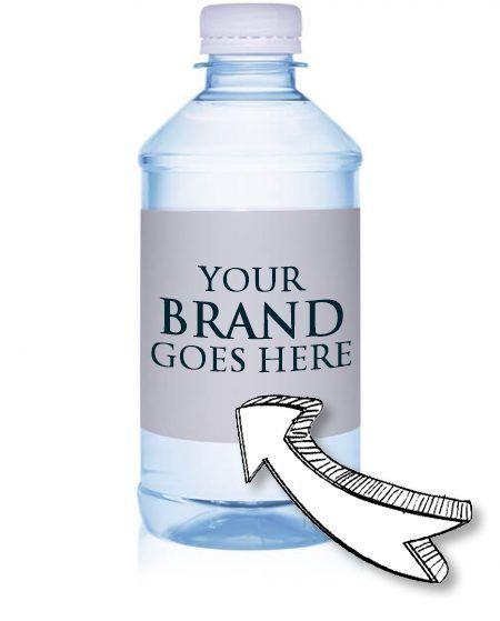12 oz. Custom Labeled Bottled S - customizedwater   ello