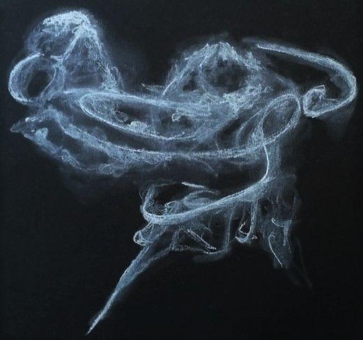 Smoke pastel black paper - art, artist - allthingsinky | ello