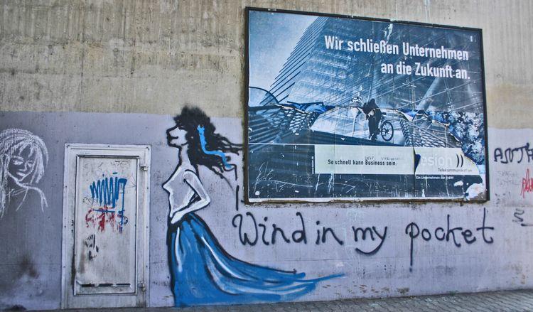 windinmypocket, blue, blau, Ludwigshafen - alles_banane | ello