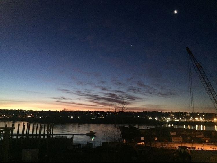 Early morning awake walk river  - tonydurke | ello