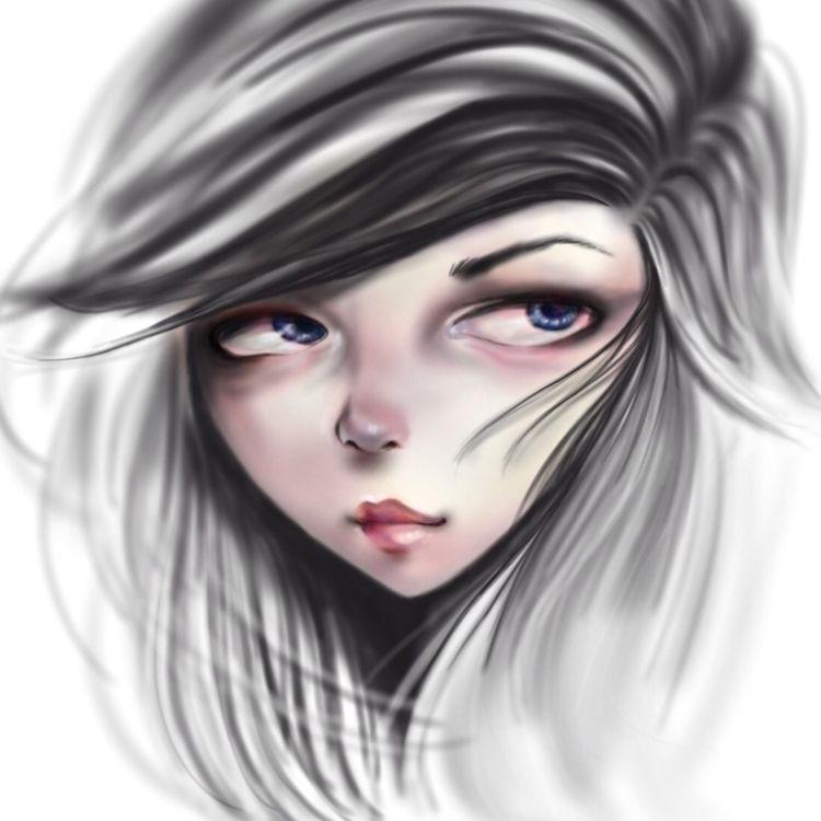 procreate ipadpro airbrush mode - annlim_art | ello
