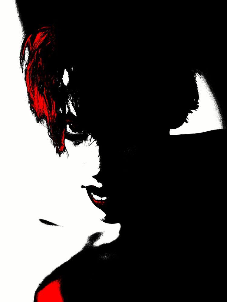 Black, White Red. . contrasts L - baxtermarrison   ello