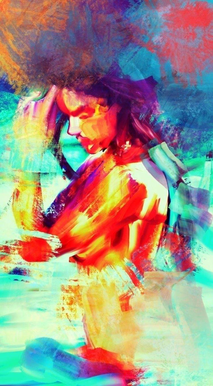 portrait girl - spontaneousrealism - iammrben | ello