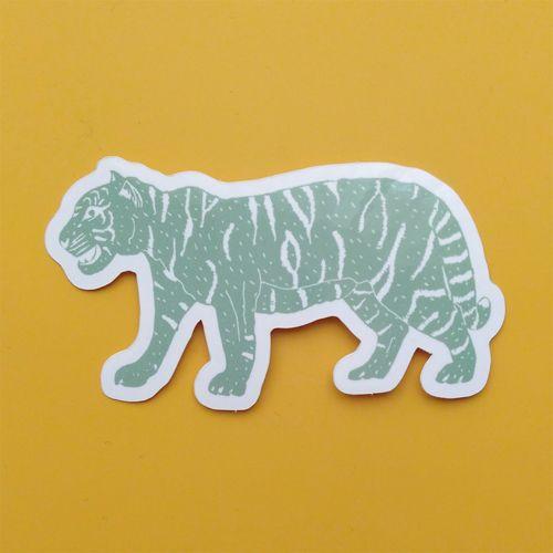 Sticker design - sticker, tiger - studioferweda | ello