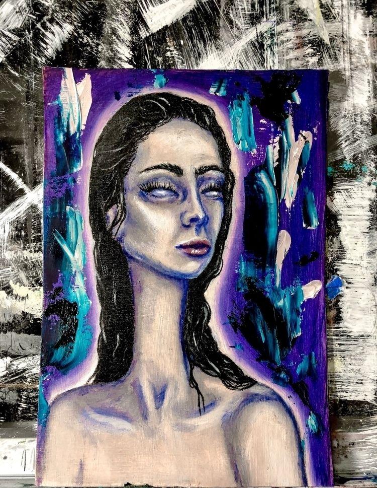 completed 5x7 oil painting stud - annaisabellaart | ello