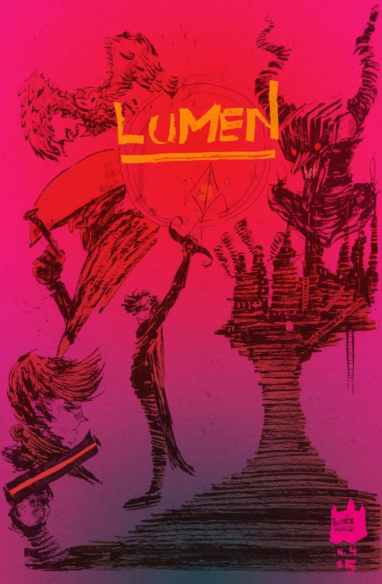 Issue 4 comic book series Lumen - tonymcmillen | ello