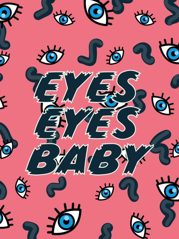 Eyes Baby,' art print pays homa - kikivaradesign | ello