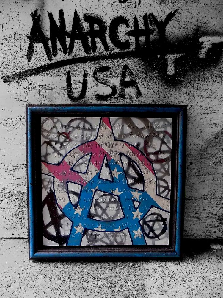 Anarchy USA Painter Loki - painterloki | ello