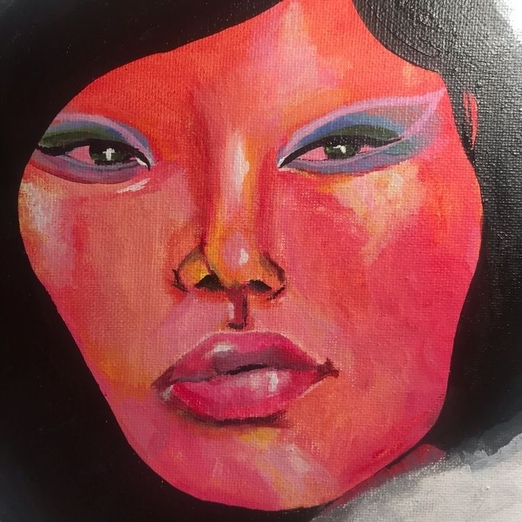 Acrylic canvas. 1 hr project - acrylic - vp-art | ello