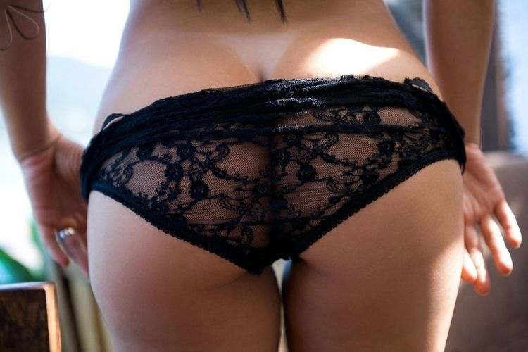NSFW, Arse, Ass, Bum, Lace, Panties - lezmar63 | ello