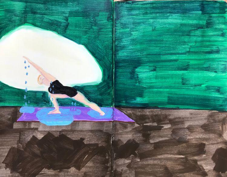 yoga, ashtanga, morning - merelellen   ello