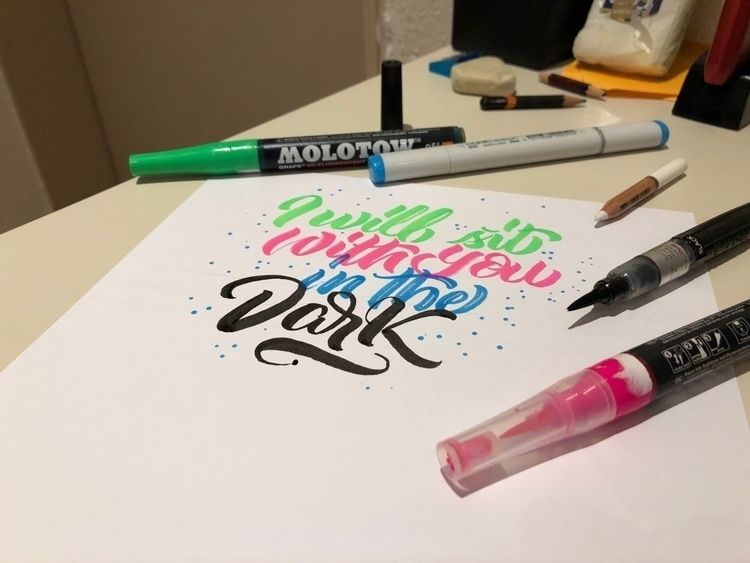 lettering - krustofsky | ello