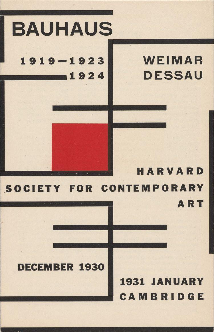 Catalogue Bauhaus Weimar, 1919 - romporn | ello