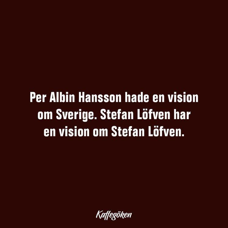 Albin Hansson hade en vision om - kaffegoken | ello