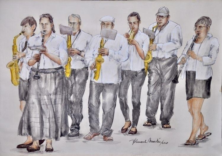 Blow horn 2018 Pastel paper 90g - ben-peeters | ello