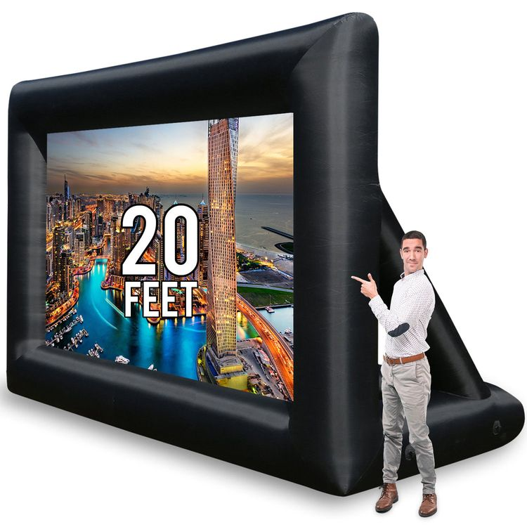 Inflatable Projector Screen 20  - roseholmes | ello