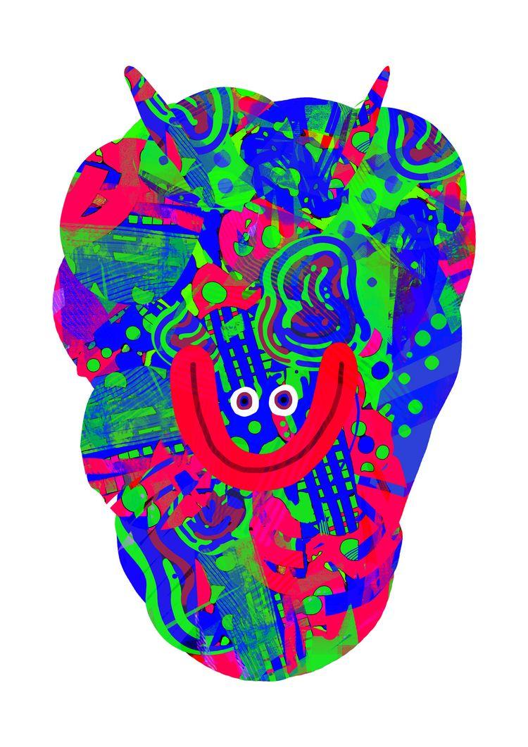 series digitally. mix texture s - babakesmaeli | ello