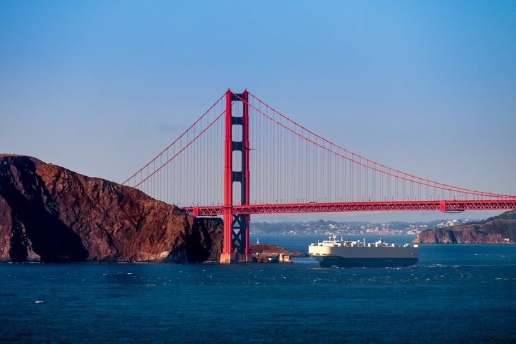 San Francisco ship sails Golden - 75centralphotography | ello