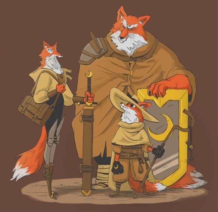 Furry Squad - concept_design, character_design - supersonic_fury   ello