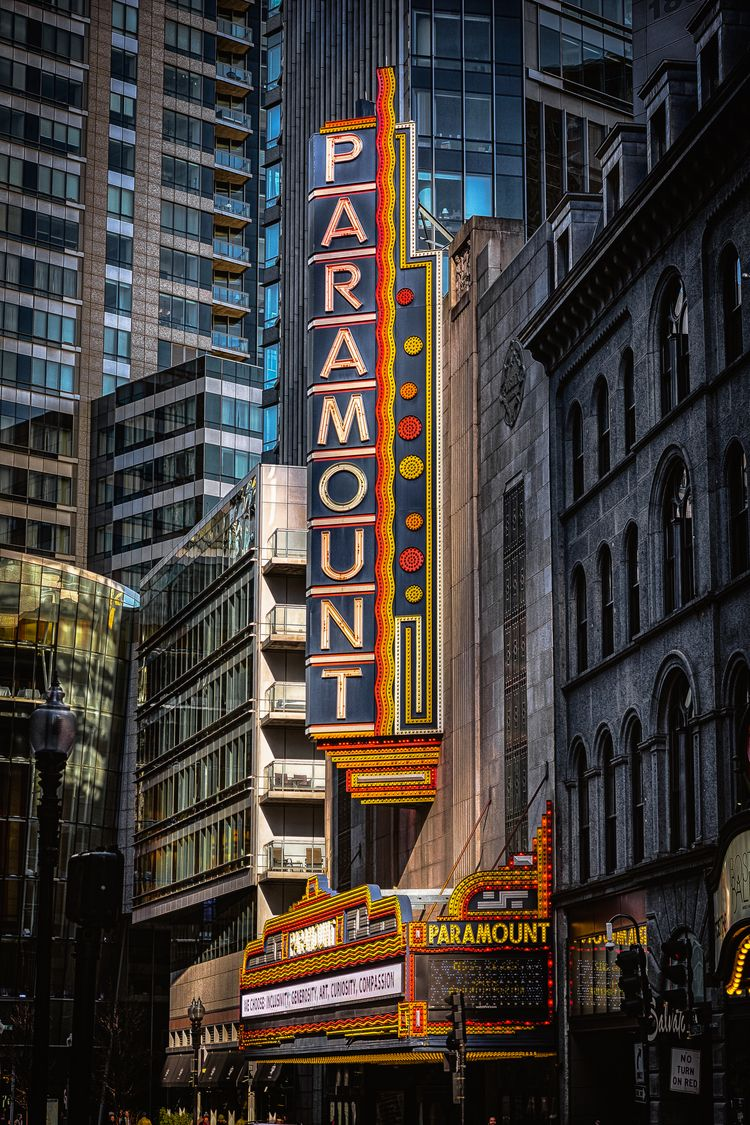 Place Art Paramount theater Bos - andrewnoiles | ello
