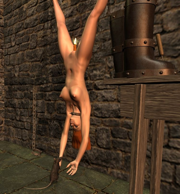 Dungeon 01 - 3d, 3d_art, art, nsfw - thor3d | ello