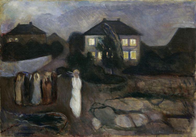 Storm, Edvard Munch, 1893 - zorrojacques | ello