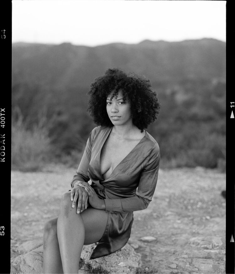Simone Posey, shot Kodak 400 fi - hullisbeautiful | ello