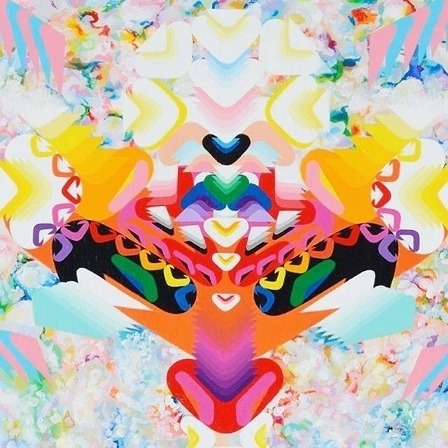 MUSICAL GODDESS. acrylic canvas - kenjihirata | ello